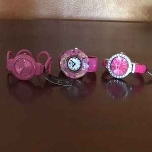 Pink Lover Watches-3 NEW!